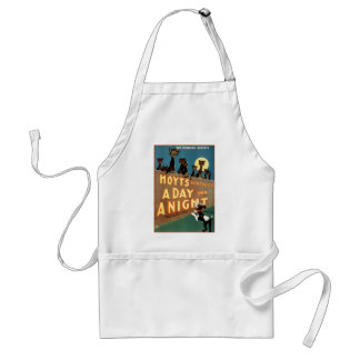 A Day and a Night - The Howling Success Adult Apron