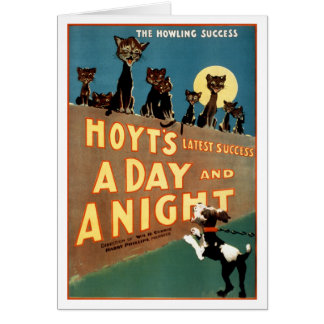 A Day and a Night - The Howling Success Card