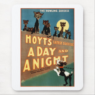 A Day and a Night - The Howling Success Mouse Pad