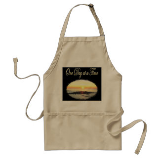 A DAY AT A TIME SUNRISE PHOTO ADULT APRON