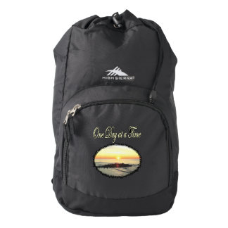 A DAY AT A TIME SUNRISE PHOTO BACKPACK