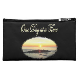 A DAY AT A TIME SUNRISE PHOTO COSMETIC BAG