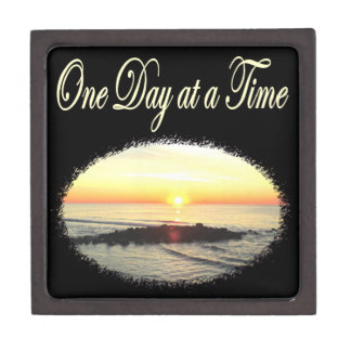 A DAY AT A TIME SUNRISE PHOTO JEWELRY BOX