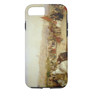 A Day at Boulogne, 1870 (oil on canvas) iPhone 8/7 Case