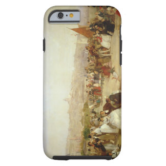 A Day at Boulogne, 1870 (oil on canvas) Tough iPhone 6 Case