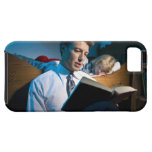 a day at home iPhone SE/5/5s case