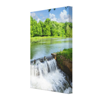 A Day At Ritter Springs Canvas Print