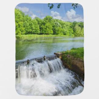 A Day At Ritter Springs Stroller Blanket
