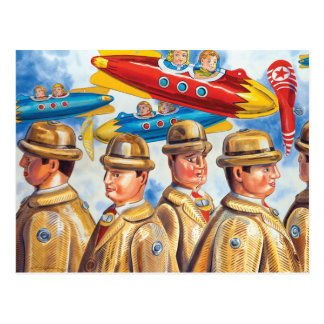 """""""A Day at the Airport"""" Postcard"""