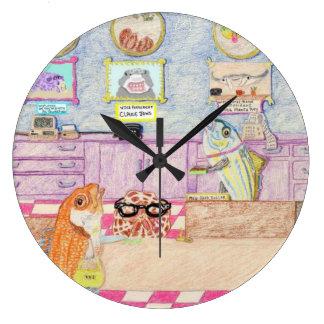 A Day At The Bank Wall Clock