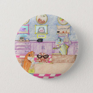 A Day At The Bank Pinback Button
