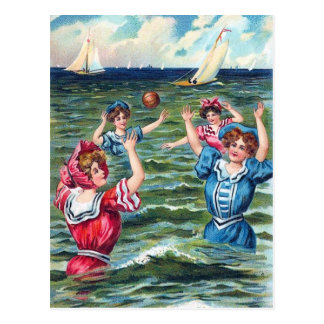 A Day at the Beach 004 Greeting Card Postcards