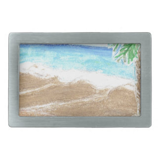 A Day At The Beach Belt Buckle