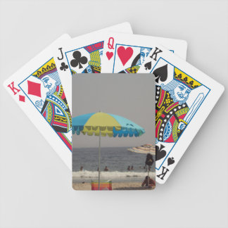 A Day At The Beach Bicycle Playing Cards