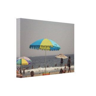 A Day At The Beach Gallery Wrap Canvas