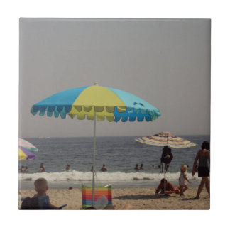 A Day At The Beach Ceramic Tiles