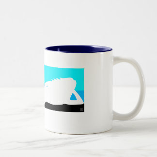 A day at the beach coffee cup
