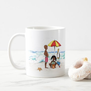 Beach Themed A Day At the Beach Coffee Mug