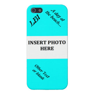 A Day at The Beach Customizable iPhone SE/5/5s Case
