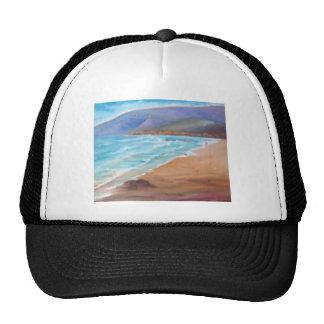 A DAY AT THE BEACH.JPG TRUCKER HAT