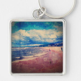 A Day At The Beach Keychains