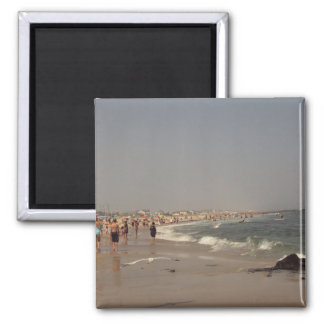 A Day At The Beach Fridge Magnet