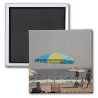 A Day At The Beach Refrigerator Magnets