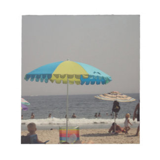 A Day At The Beach Memo Pads