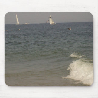 A Day At The Beach Mouse Pads