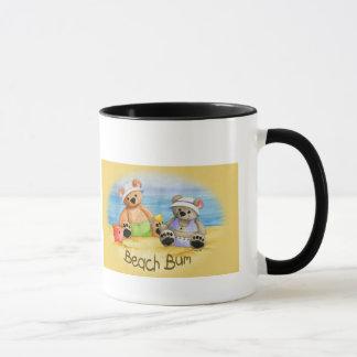A Day at the Beach Mug-Customize Mug