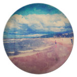 A Day At The Beach Plates