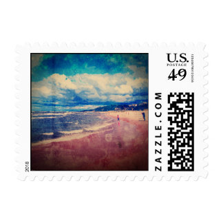 A Day At The Beach Postage