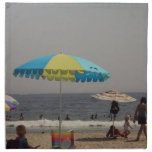 A Day At The Beach Printed Napkin