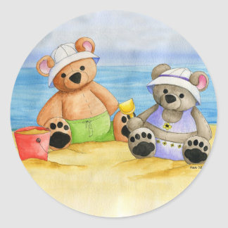 A Day at the Beach Sticker