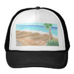 A Day At The Beach Trucker Hats
