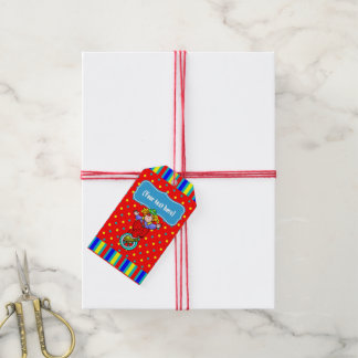 A Day at the Circus Kids Party Personalized Gift Tags