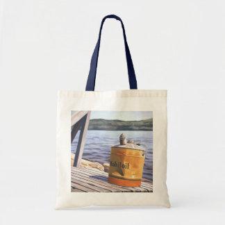 A Day at the Lake 1996 Tote Bag