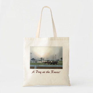 A Day at the Races! Budget Tote Bag