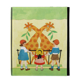 A Day At The Zoo iPad Folio Cover