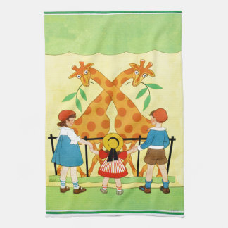 A Day At The Zoo Kitchen Towels