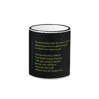 A Day by the River Ringer Coffee Mug