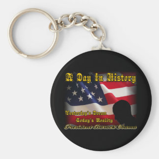 A Day In History Obama Inauguration Gifts Key Chains