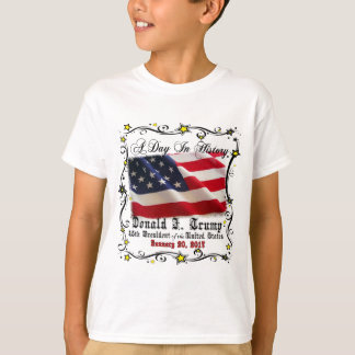 A Day In History Trump Pence Inauguration T-Shirt