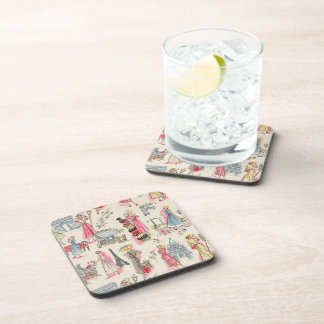 A Day in Paris Drink Coaster