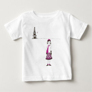 A day in Paris France Baby T-Shirt