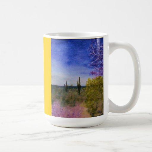 A Day in the Arizona Desert Coffee Mug