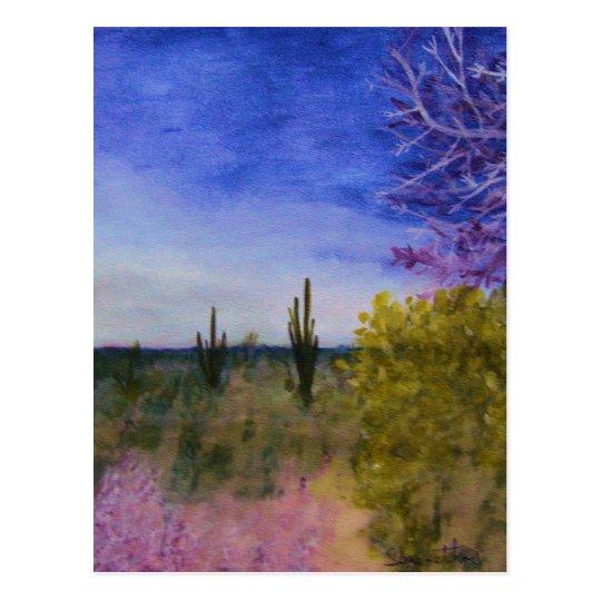 A Day in the Arizona Desert Postcard