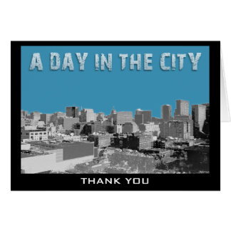 A Day In The City Card