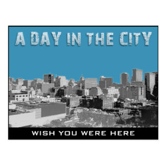 A Day In The City Postcard