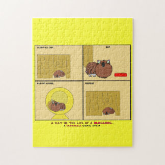 A Day in the Life of a Hedgehog Schnozzle Comic Jigsaw Puzzle